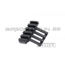 FMA Adaptateur rail one oclock side noir