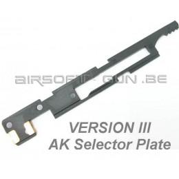 Selecteur plate V3 AK