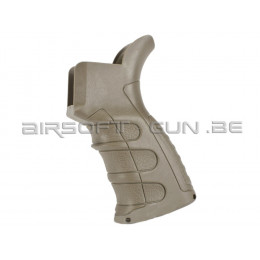 CAA Pistol grip UPG16-1 mince dark earth pour AEG
