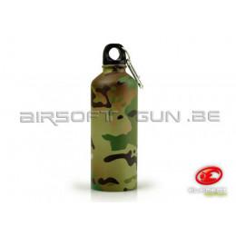 Element bouteille d'eau métallique Multicam