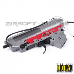 King arms Gearbox V3 complète 9mm AK cablage arrière M135