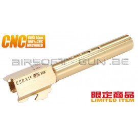 Guarder Canon externe CNC Titanium Gold pour G18C Marui