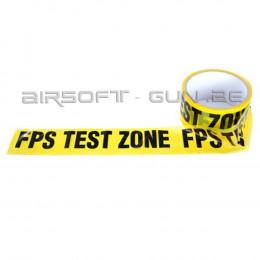 Bande signalétique FPS TEST ZONE