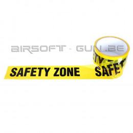 Bande signalétique SAFETY ZONE
