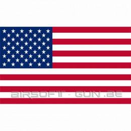 Drapeau USA avec oeillet