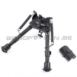 King arms Bi-pied V2 pour sniper et AEG