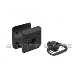 G&P Attache sangle rapide sling swivel pour shotgun Marui M870