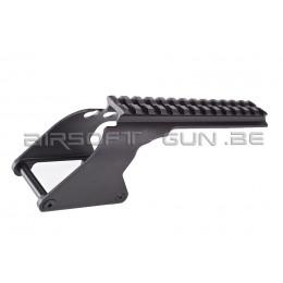 G&P Rail suppérieur pour shotgun Marui M870 ( short version )