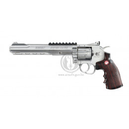 "ASG Ruger super hawk 8"" chromé CO2 GNB"