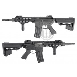 "King arms M4 M.R.S tactical 7"" Noir AEG"