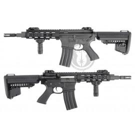 "King arms M4 M.R.S tactical 7"" Noir AEG"