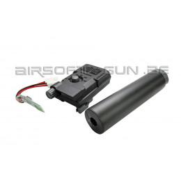 Xcortech X3300W Chronographe avancé / Tracer / Burst Control Unit - Noir