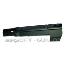 Canon externe noir pour Gbb Desert Eagle 50AE Marui