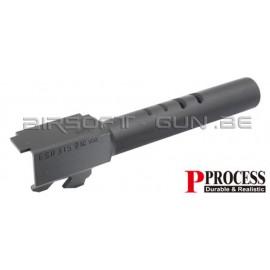 Guarder Canon externe CNC acier pour G18C Marui NOIR