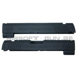 Guarder culasse aluminium pour Hi-Capa 4.3 Marui INFINITY NOIR