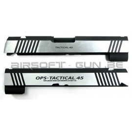 Guarder culasse aluminium pour Hi-Capa 4.3 Marui OPS dual ver.