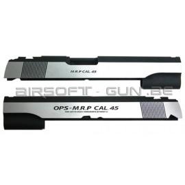 Guarder culasse aluminium pour Hi-Capa 5.1 Marui OPS dual ver.