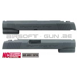 Guarder culasse aluminium pour Hi-Capa 5.1 Marui INFINITY NC NOIR