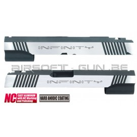 Guarder culasse aluminium anodisée custom pour Hi-Capa 5.1 Marui INFINITY NC DUAL TON