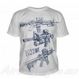 5.11 T-Shirt AR Sketch en divers couleurs