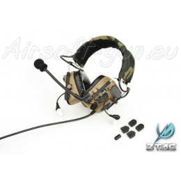 Z tactical casque auditif Comtac 4 en dark earth