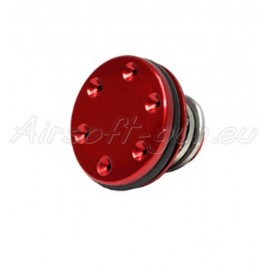 Super shooter tete de piston CNC en aluminium rouge