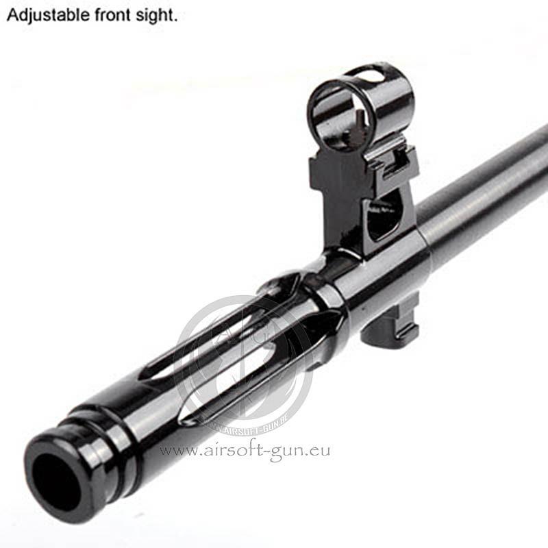 King arms sniper SVD dragunov aeg bois + scope