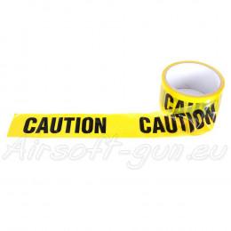 Bande signalétique Caution