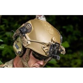 Adaptateur pour casque auditif Peltor Comtac sur casque EXF BUMP en divers couleurs
