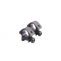 Attache anneaux Mount ring low 25mm 2/pcs