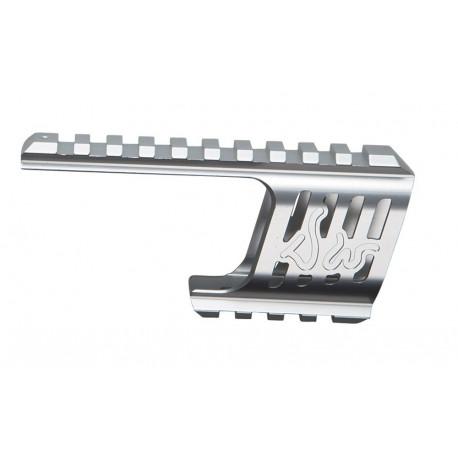 Custom CNC rail de visée pour Dan Wesson 715 Silver