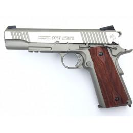 Colt 1911 Rail gun Co2 silver