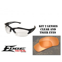 Acid Gambit glasses in kit of 2 lenses yellow and clear