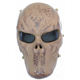 Masque tactique skull Desert