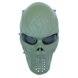 Masque tactique skull Green