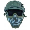 Masque de protection faciale version 1 en Skull OD