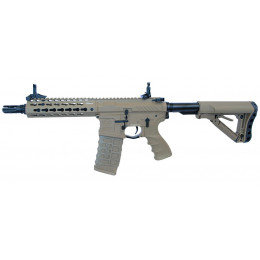 Assault rifle M4 AEG CM16 SRS with mosfet Tan