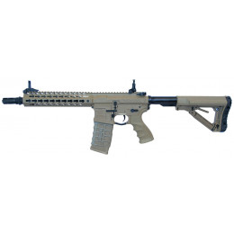 Assault rifle M4 AEG CM16 SRL with mosfet Tan
