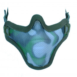 Masque de potection faciale V1 en camo woodland