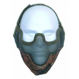 Masque de potection faciale V2 en digital woodland