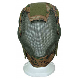 Masque de protection faciale V6 en digital woodland