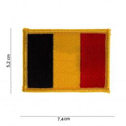 Patch drapeau BELGE avec velcro