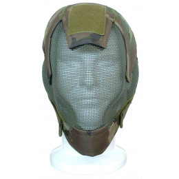 Masque de protection faciale V6 en woodland