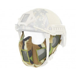 Masque de protection faciale version 9 Woodland