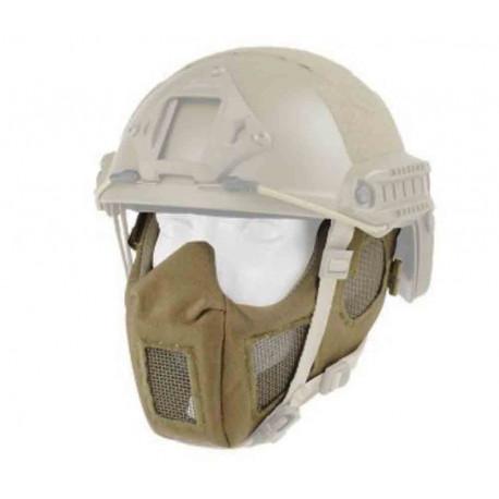 Masque de protection faciale version 9 Tan