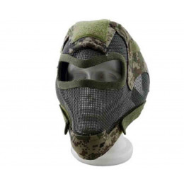 Masque de protection faciale V7 en digital woodland