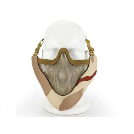 Masque de protection faciale V4 en Desert 3 couleurs