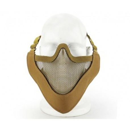 Masque de protection faciale V4 en Tan