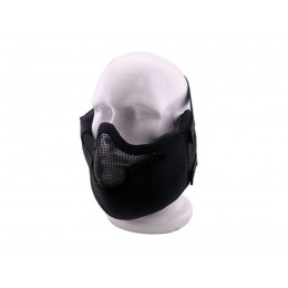 Masque de protection faciale V8 en noir