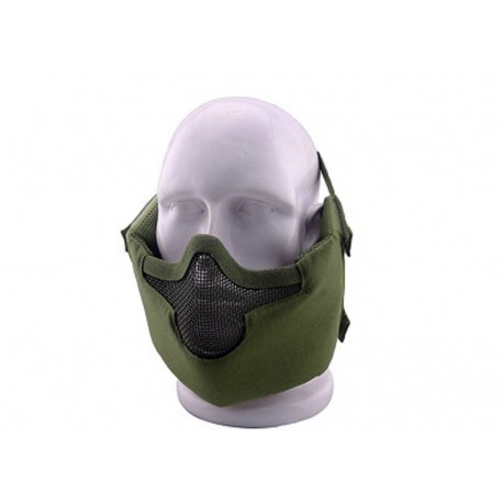 Masque de protection faciale V8 en Olive Drab